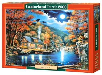 Пазлы Castorland Домик на озере 2000 деталей