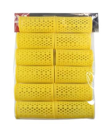 Аксессуар для волос Dewal Бигуди пластиковые d=32 мм Желтый 12 шт