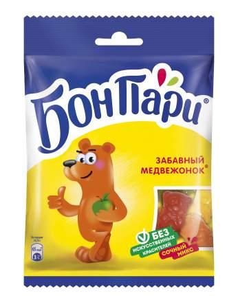 Мармелад жевательный Бон Пари забавный медвежонок и ко со вкусом фруктов 15 шт по 75 г