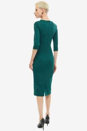 Платье женское OLGA SKAZKINA 190822 зеленое 42 RU