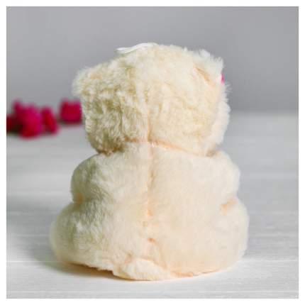Мягкая игрушка Sima-Land Мишутка с сердцем 4471238 Розовый