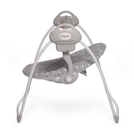 Электрокачели Baby Care Riva с адаптером серые