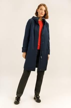 Пальто женское Finn Flare A19-11029 синее XS