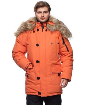 Пуховая куртка  DIXON 1461-9111-048 ОРАНЖЕВЫЙ 48