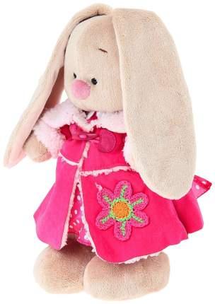 Мягкая игрушка BUDI BASA Зайка Ми в платье и розовой дубленке малая, 25 см
