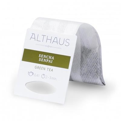 Чай зеленый в пакетах для чайника Althaus сенча сенпай 20*4 г
