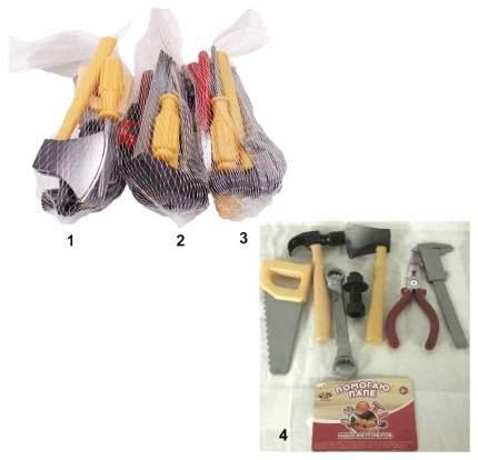 Набор инструментов Abtoys Помогаю Папе 3 вида