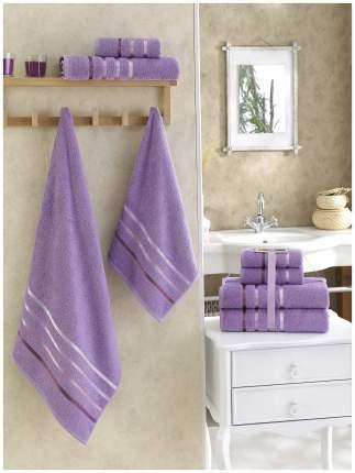 Набор полотенец KARNA фиолетовый