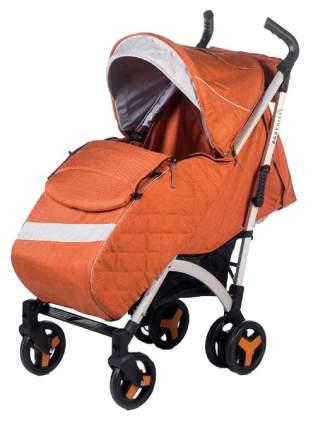Коляска-трость BabyHit Rainbow XT Linen Sandy Оранжевая под лен