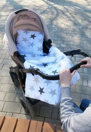 Комплект в коляску Сонный гномик 3 пр. Звездочки бежевый