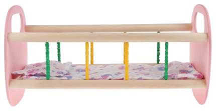 Кроватка для куклы Деревянные игрушки - Владимир СУС2 в ассортименте