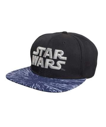 Бейсболка Good Loot Star Wars Front Logo, черная/синяя, 52-57