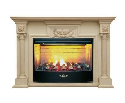 Деревянный портал для камина Real-Flame London 33 WT