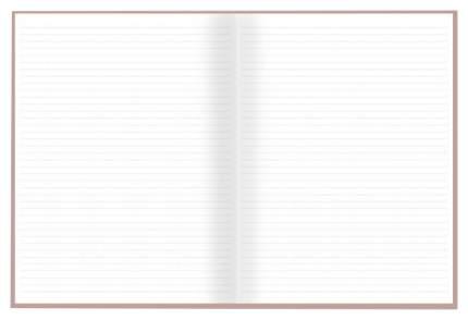 Бизнес-блокнот недатированный арт.47600/10 ВЕЛЮР ПЕПЕЛЬНО-РОЗОВЫЙ