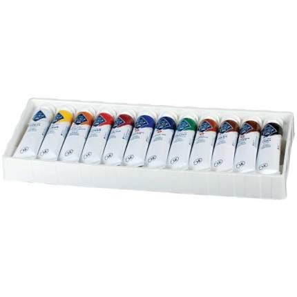 Масляные краски Невская Палитра Мастер-класс 12 цветов