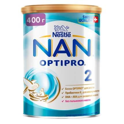 Молочная смесь NAN Optipro 2 от 6 до 12 мес. 400 г