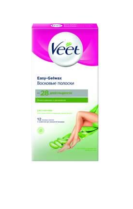 Полоски для депиляции Veet Dry для сухой кожи 12 шт