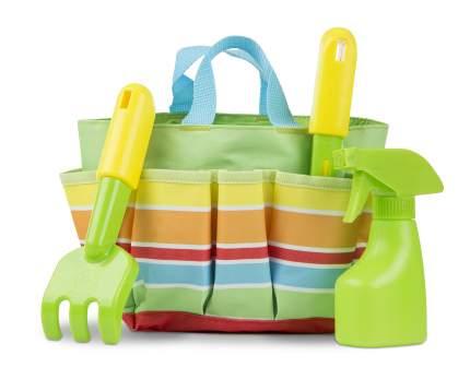Набор для садоводства Melissa & Doug Sunny Patch в сумочке, зеленый