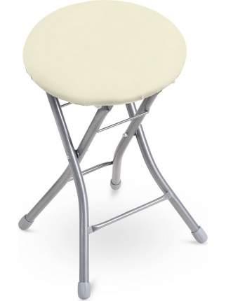 Табурет складной Nika ТБСК2/1 с мягким сиденьем, 1 шт, сиденье 32 см, нагрузка до 120 кг
