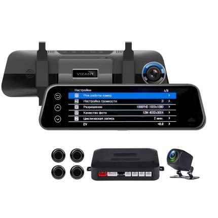 Видеорегистратор Vizant-250 Assist Full HD 1080P c 2-мя камерами и датчиками парковки