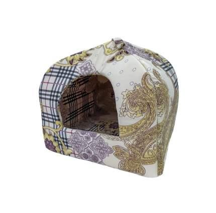 Домик для кошек и собак Бобровый Дворик Вигвам, в ассортименте, 43x43x48см