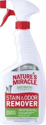 Спрей-уничтожитель пятен и запахов от собак Nature's Miracle Dog Stain&Odor Remover, 709мл