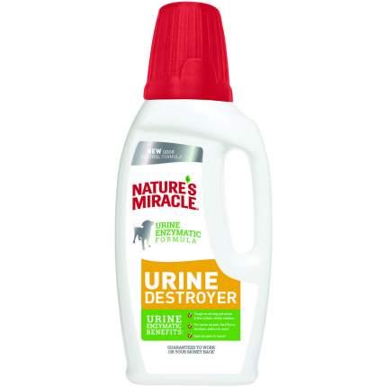 Уничтожитель пятен, запахов и осадка от мочи собак Nature's Miracle Urine Destroyer, 945мл