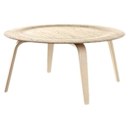 Кофейный столик ROOMERS 415х875х875 см, бежевый