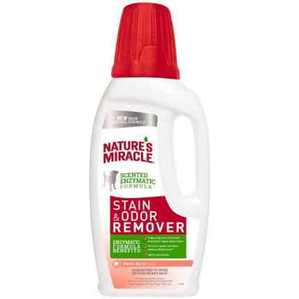 Уничтожитель запахов меток и мочи кошек Nature's Miracle Stain&Odor Remover дыня 946 мл