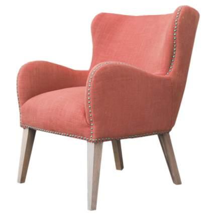 Кресло для гостиной ROOMERS 90х68х78 см, бежевый/красный