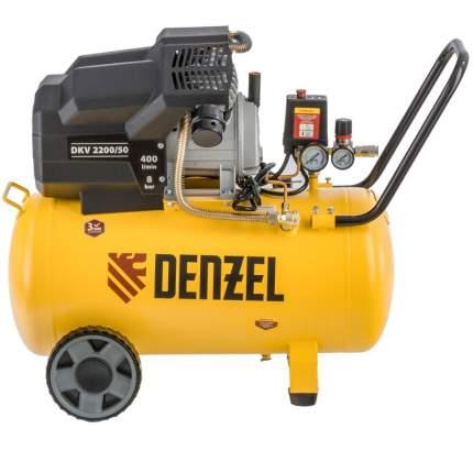 Поршневой компрессор DKV2200/50, Х-PRO 2,2 кВт, 400 л/мин, 50 л Denzel