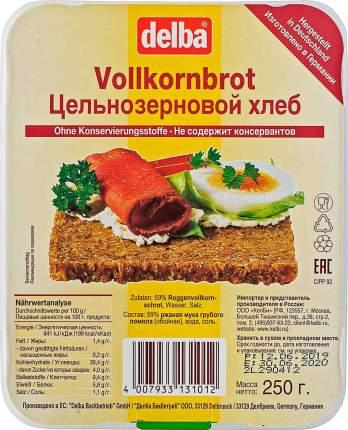 Хлеб DELBA  Цельнозерновой 250г