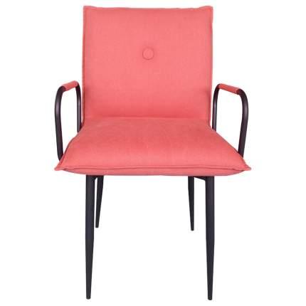 Кресло для гостиной ROOMERS 85х52х55 см, черный/красный