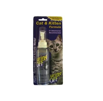 Уничтожитель пятен и запахов от кошек и котят Urine Off Odor and Stain Remover спрей 118мл