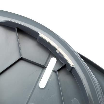 Лежак для животных Ferplast SIESTA DELUXE 6, пластиковый, темно-серый, 70,5х52х23,5 см
