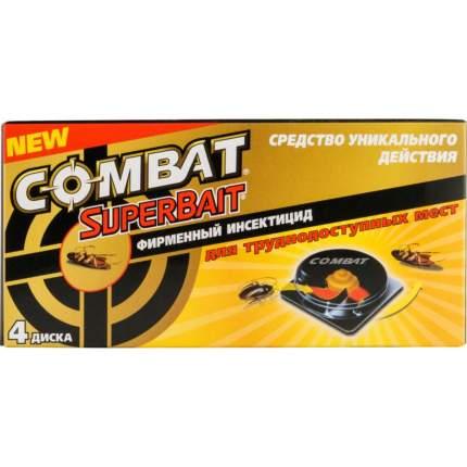 Инсектицид Combat superbait  от тараканов 4 штуки