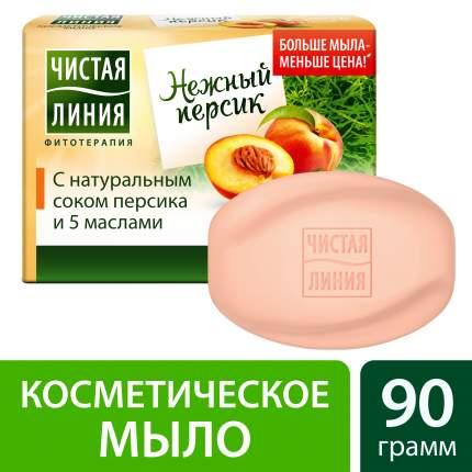 Косметическое мыло Чистая Линия Персик 90 г