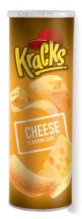 """Чипсы картофельные т.з. """"Кракс"""" (""""Kracks"""") со вкусом сыра 160г*14"""