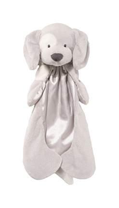 Игрушка мягкая Gund Spunky Lovey Grey собачка 10 см