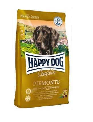 Сухой корм для собак Happy Dog Supreme Sensible Piemonte, утка, морская рыба, 10кг