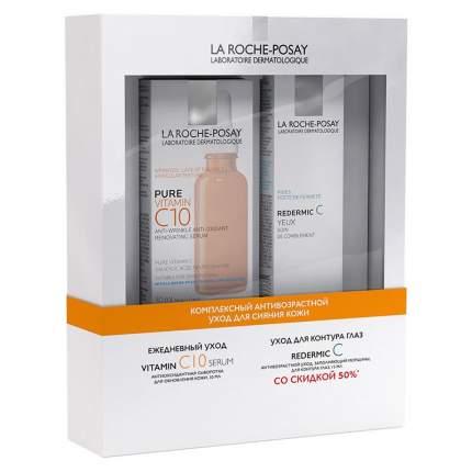 Набор для кожи La Roche Posay Антиоксидантная сыворотка 30 мл + Редермик 15 мл