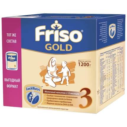 Молочная смесь Friso Gold 3 от года 1200 г