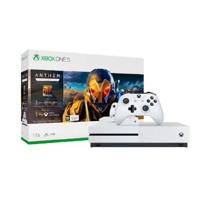 Игровая приставка Microsoft Xbox One S White (234-00948)
