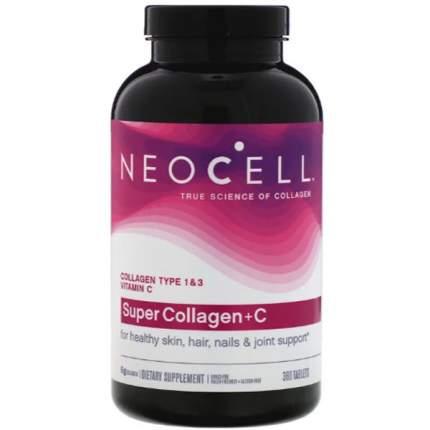 Neocell Super Collagen C (360 таблеток) - коллаген тип 1 и 3 с витамином C в таблетках