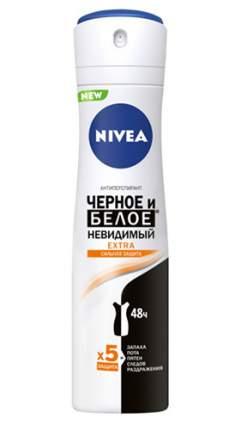 Дезодорант-спрей Nivea Extra. Невидимый для чёрного и белого 150 мл