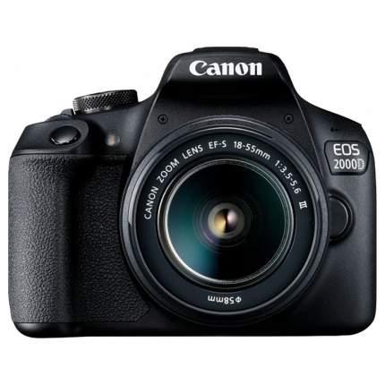 Фотоаппарат зеркальный Canon EOS 2000D 18-55mm III Black