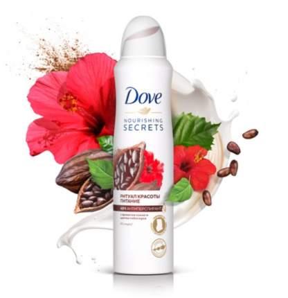 Дезодорант-антиперспирант аэрозоль Dove Ритуал красоты. Питание 150 мл