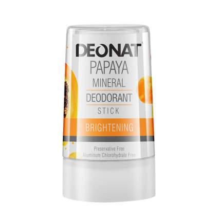 Дезодорант-кристалл с экстрактом папайи DeoNat 40 г