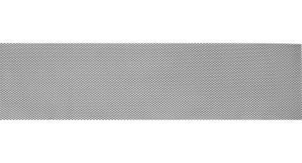Универсальная сетка Rival 1000х250 R10 для защиты радиатора, черная, 1 шт. INDIV.ZS.1001.1
