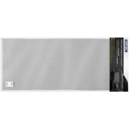 Универсальная сетка Rival 1000х400 R16 для защиты радиатора, черная, 1 шт. INDIV.ZS.1601.2